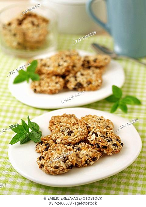 Muesli cookies without flour