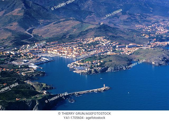 Port Vendres, Eastern Pyrenees, Languedoc-Roussillon region, France