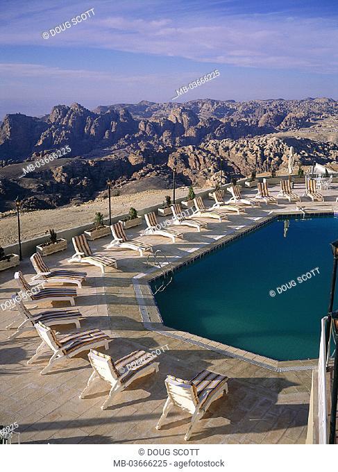 Jordan, Petra, Nabataean city