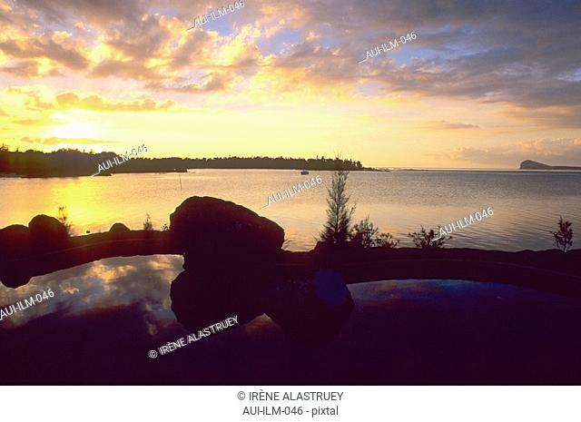 Mauritius - Grand Gaube - Legends Hotel - sunset