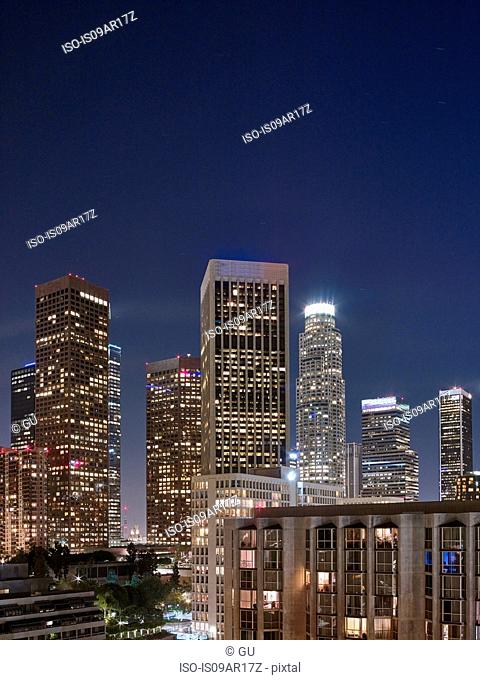 Financial District, Downtown, Los Angeles, California, United States of America