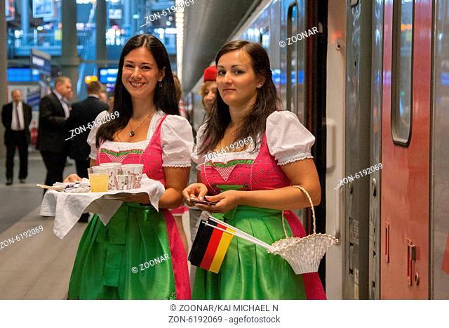 In der Zeit vom 20. bis 21. Juli 2014 verkehrte der 500. Transeuropeean Express von Moskau über Berlin nach Paris. - Bei Verwendung des Fotos ausserhalb...