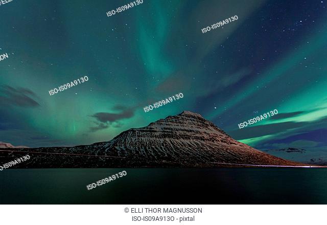 Northern Lights at Eskifjordur, Iceland