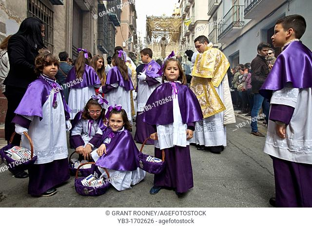 Semana Santa Holy Week Malaga, Andalusia, Spain