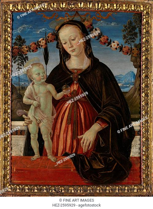 The Virgin and Child, c. 1473. Found in the collection of the National Gallery, London