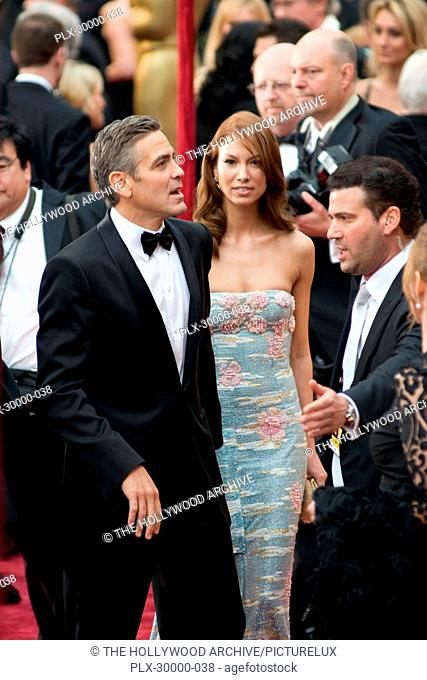 The Academy of Motion Picture Arts and Sciences Presents Academy Awards - 80th Annual George Clooney, Sarah Larson 2-24-08