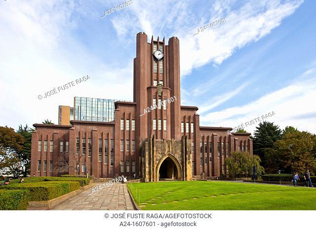 Yasuda Building, Tokyo University, Tokyo, Japan