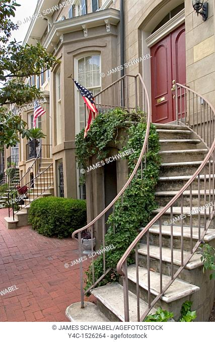 East Charlton Street, Historic District, Savannah, Georgia