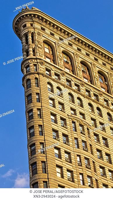 Flatiron Building, Fifth Avenue, Manhattan, New York, New York City, USA