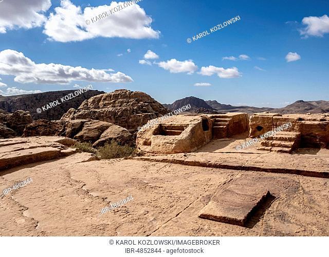 High Place of Sacrifice, Petra, Ma'an Governorate, Jordan