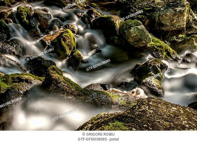Water among the stones