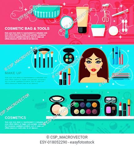 Makeup Banner Set