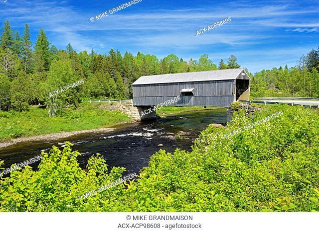 McCann or Didgeguash River #4 covered bridge (1938) St. Martins New Brunswick Canada