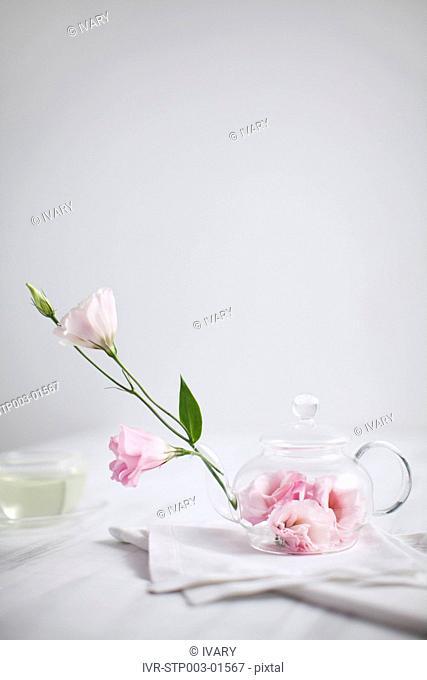 Flower With Tea