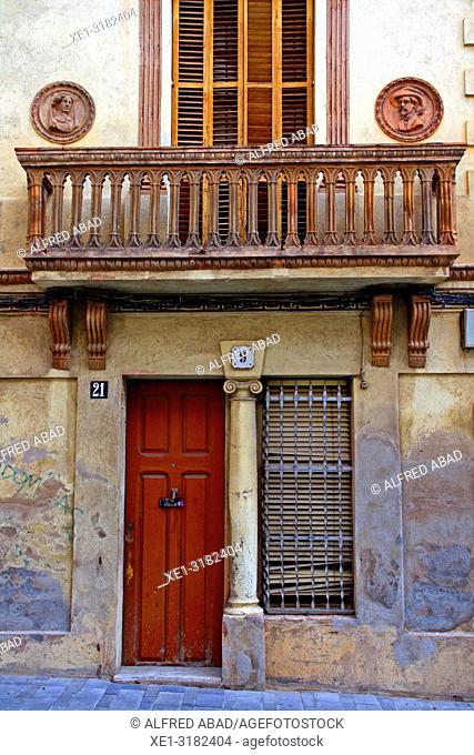 Enric Pi houses, 1907, architect Juli Batllevell, Sant Cugat del Valles, Catalonia, Spain