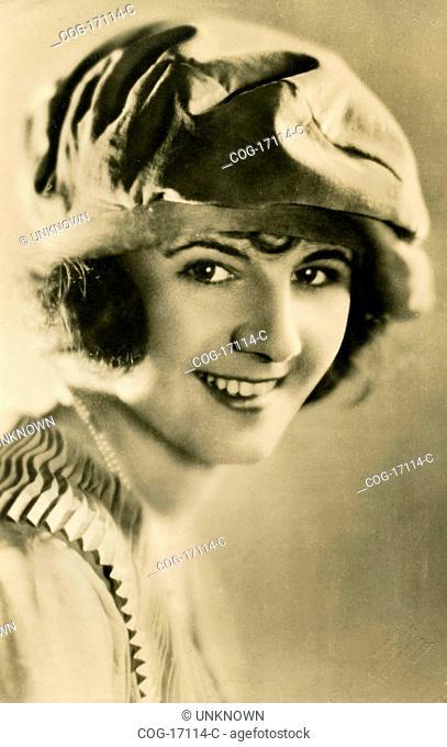 Portrait of actress Peggie Heather, UK