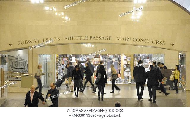 42 nd Street, Grand Central Terminal, Grand Hall, Manhattan, New York City, USA