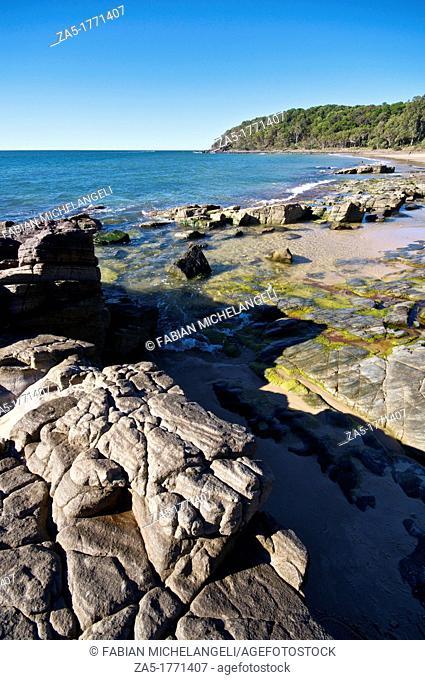 Rocks at Noosa Heads, Noosa National Park, QLD, Australia