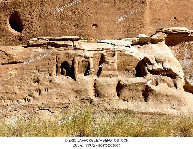 Madain Saleh in Saudi Arabia, a sister city to Jordan's Petra