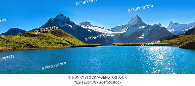 Grindelwald First Lake- Swiss Alps - Switzerland