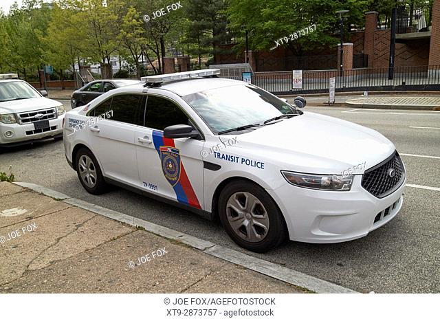 septa southeastern pennsylvania transit authority transit police ford cruiser patrol car Philadelphia USA