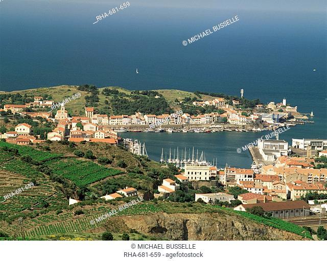 Port Vendres, Languedoc Roussillon, France, Europe