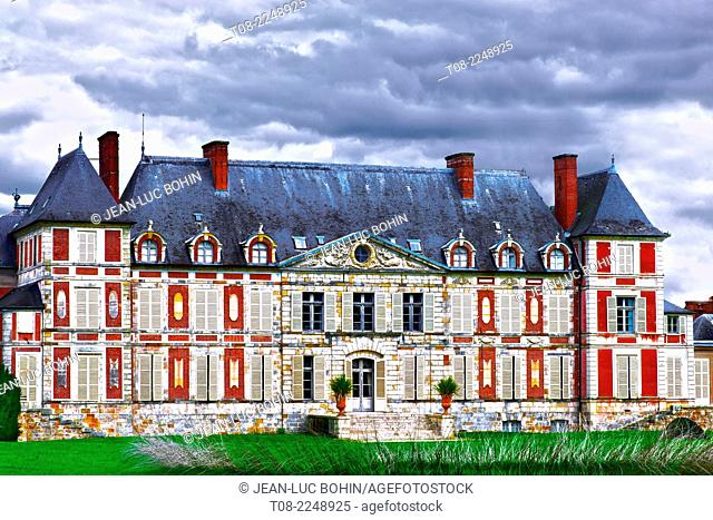 france, essonne : courson castle