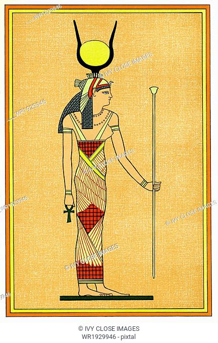 In Ancient Egyptian Mythology Isis Left Was The Great Mother
