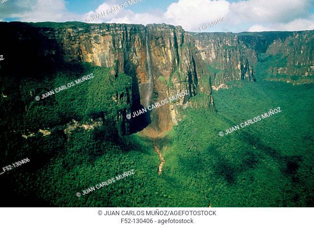 Angel Falls. Auyan-Tepui. Canaima National Park. Venezuela
