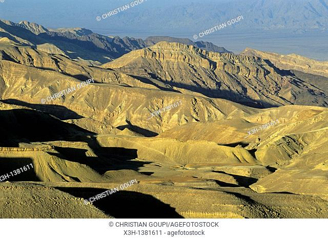 Eilat Mountains, a view from Mount Yoash, Negev, Israel, Middle East, Western Asia