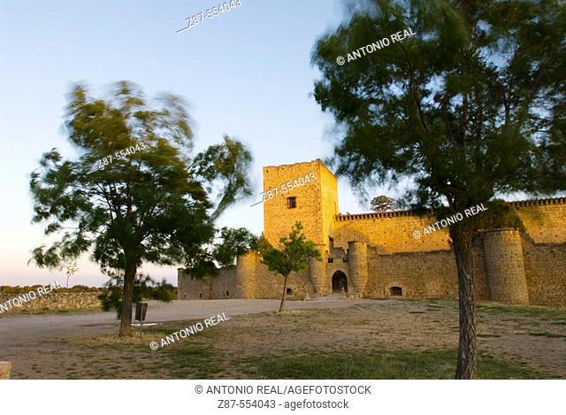 Castle. Pedraza. Segovia province, Spain