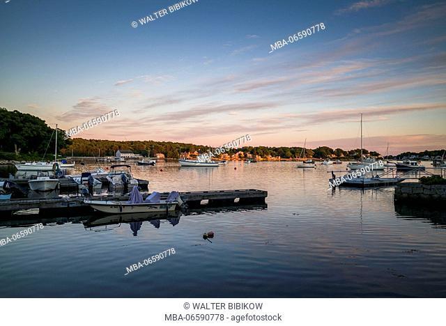 USA, Massachusetts, Cape Ann, Annisquam, Lobster Cove