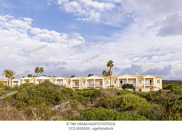 The Insotel Club holiday resort in Punta Prima , Menorca , Balearic Islands , Spain