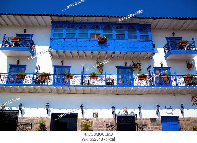 Balconies, Cusco, Peru