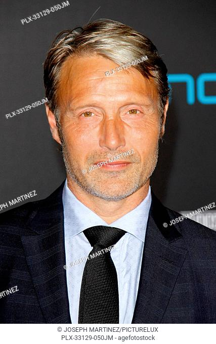Mads Mikkelsen at the World Premiere of Marvel Studios' Doctor Strange held at TCL Chinese Theater in Hollywood, CA, October 20, 2016