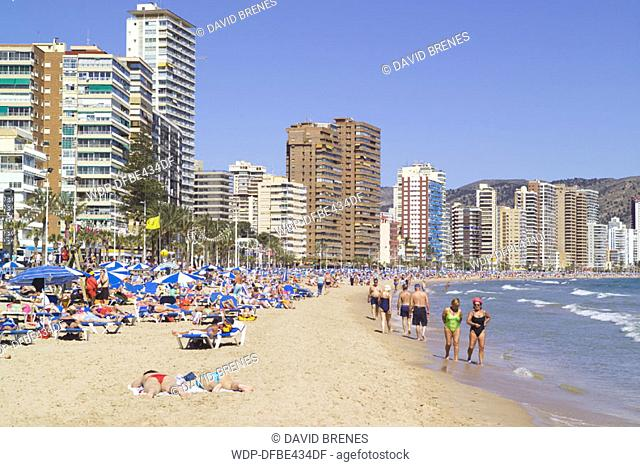 Benidorm, Costa Blanca, Spain