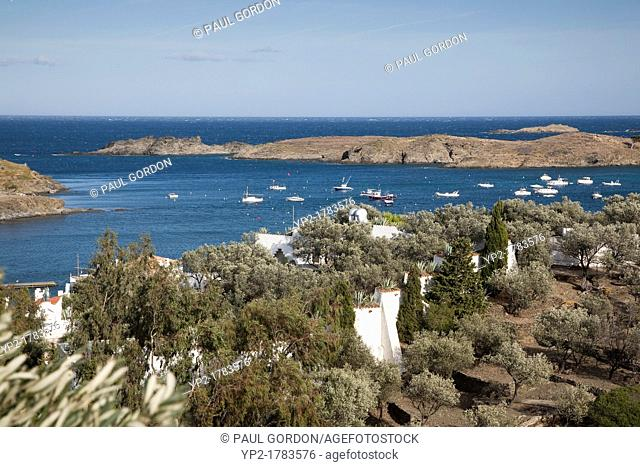 The Fishing Village of Portlligat on the Costa Brava - Portlligat, Catalonia, Spain
