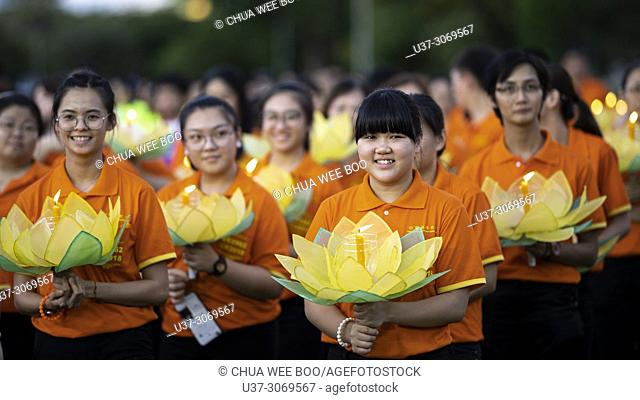 2018 Wesak Day Celebrations in Kuching, Sarawak, Malaysia