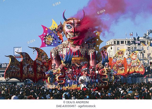 Italy - Tuscany Region - Versilia - Viareggio - Carnival