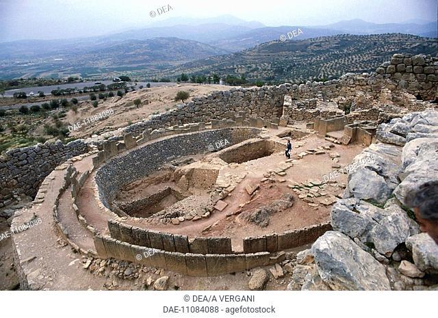 Greece - Peloponnesus - Mycenae. Royal graves