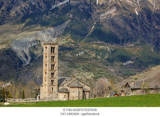 Church os Sant Climent de Taüll. Vall de Boí. Lleida. spain
