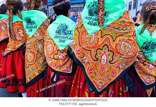 Jarramplas Carnival, Piornal, Jerte Valley, Cáceres province, Extremadura, Spain, Europe