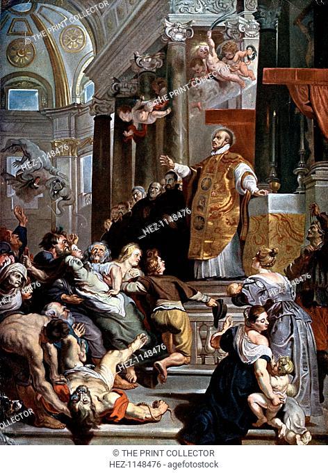 'The Miracles of Saint Ignatius Loyola', c1617-1618. St Ignatius of Loyola (1491-1556), theologian, priest, founder of the Society of Jesus