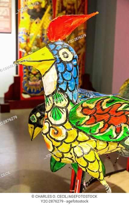 Wenzhou, Zhejiang, China. Hundred Bird Lantern, Intangible Cultural Heritage Museum