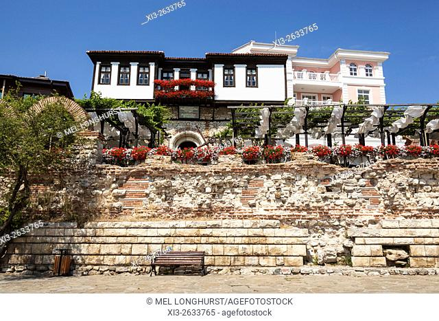 Kapitanska Sreschta, House Of Captain Pavel, Restaurant, Nessebar, Bulgaria
