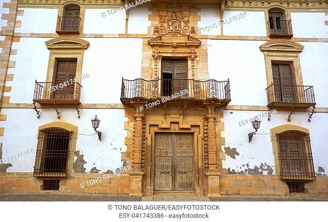 Tembleque Palacio de las Torres in Toledo at Castile La Mancha on Saint james way