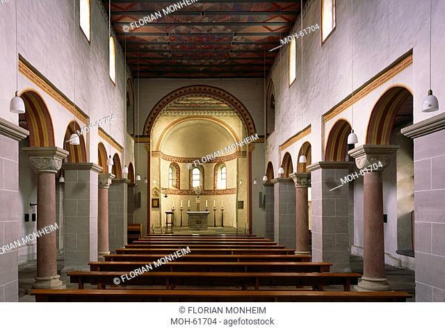 Essen-Werden, Pfarrkirche St. Lucius Älteste Pfarrkirche nördlich der Alpen