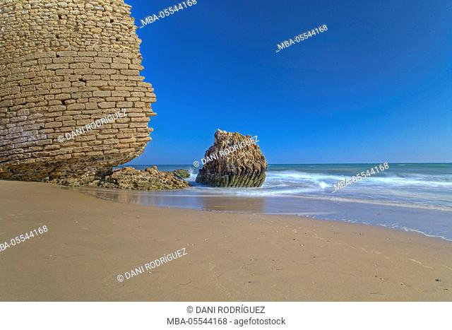 Beach in Mazagón, Huelva, Andalusia, Spain