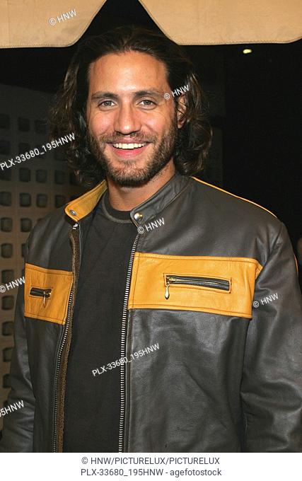 "Édgar Ramírez 11/07/04 2004 AFI FILM FESTIVAL """"BAD EDUCATION"""" @ Cinerama Dome Theater, Arclight Cinemas, Hollywood Photo by Kazumi Nakamoto/HNW / PictureLux..."