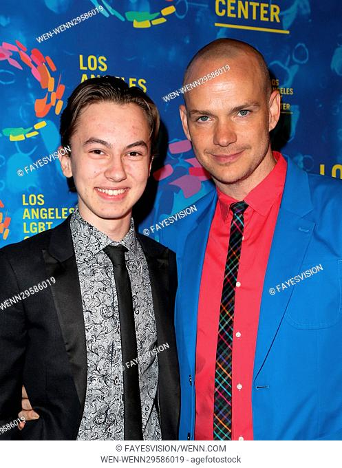 Los Angeles LGBT Center's 47th Anniversary Gala Vanguard Awards Featuring: Hayden Byerly, Peter Paige Where: West Hollywood, California